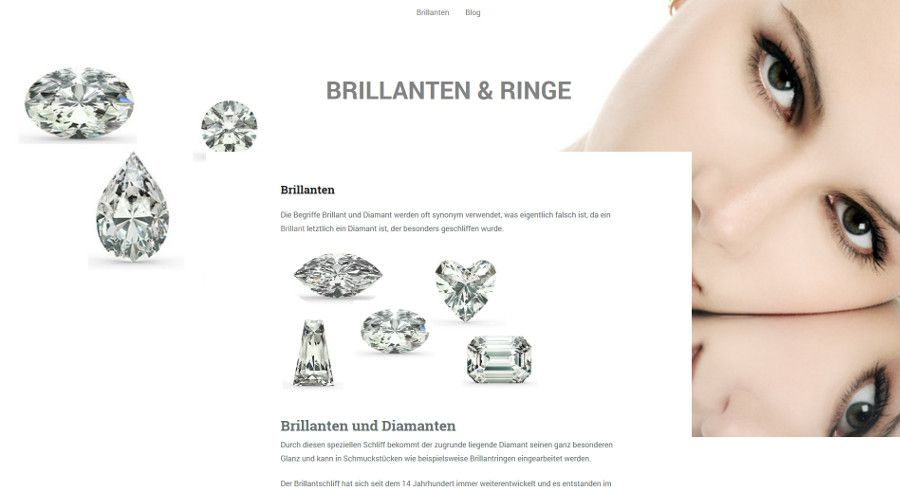 Wordpress-Blog - Brillanten